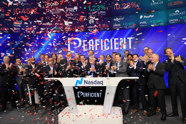 Nasdaq Closing Bell for Perficient