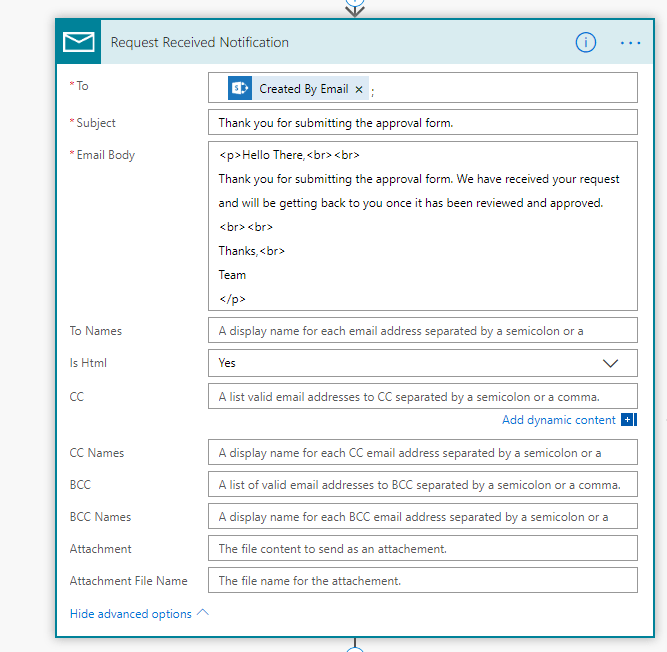 How to Create an Approval Flow using Microsoft Flow