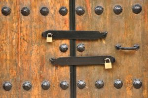 Locks on doors