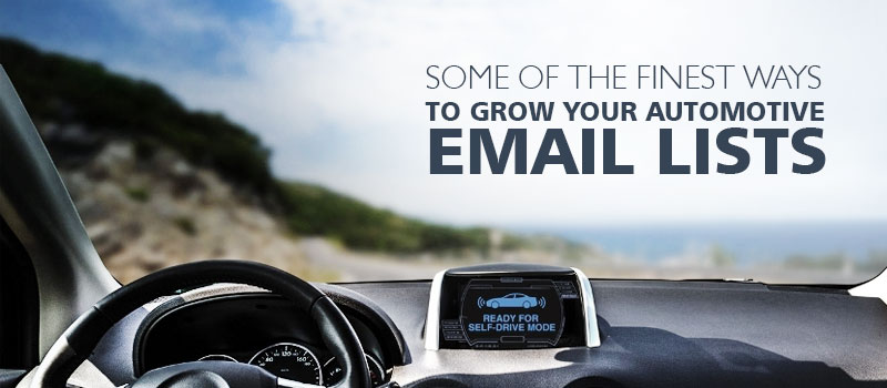 Automotive Email Lists