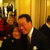 Ryan with cellist Yo-Yo Ma
