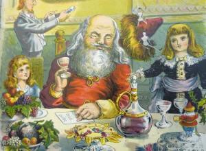 Santa Claus & His Works (New York: McLoughlin Bros., 1871-1886)