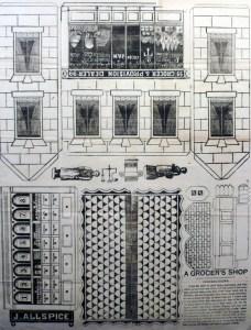 A Grocer's Shop. (Clark's Monster Models, no. 3) London?: Clark, between 1860 and 1870?