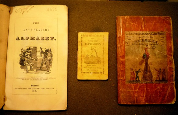 Three Recently-cataloged Cotsen Library Alphabet Books Cotsen new accessions