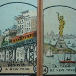 New York & and Statue of Liberty (dedicated, 1886)