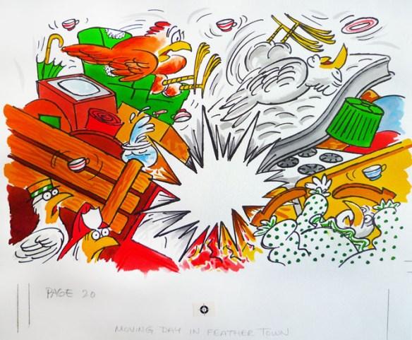Page [19] original artwork