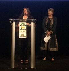 Corinna Cotsen (left); Andrea Immel (right)