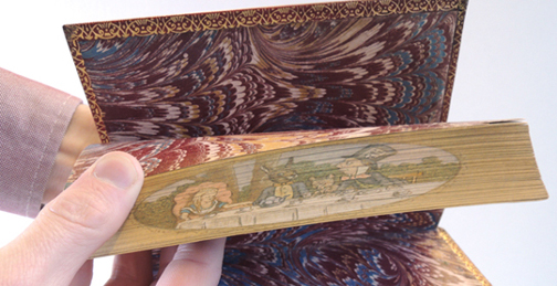 alice fore-edge