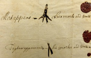 Lenape marks and seals