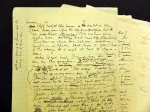 Toni Morrison, Beloved draft jpeg