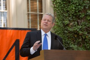 Al Gore - Photo: Princeton University, Office of Communications, Denise Applewhite (2014)