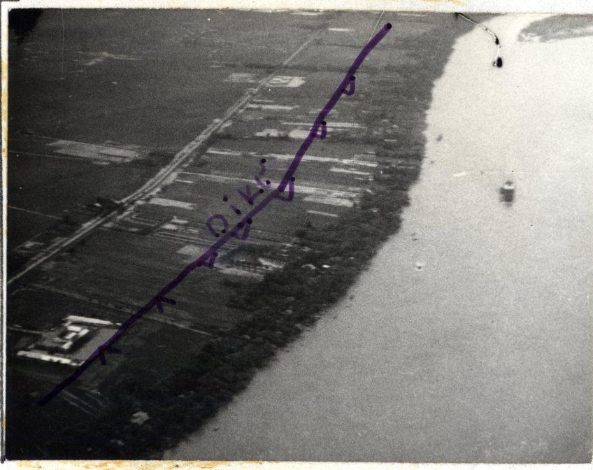Proposed Dike near Cai Rang