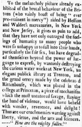 Virginia Gazette 10 Jan 1777