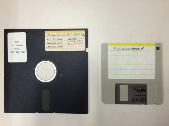 "5.25"" and 3.5"" floppy disks"