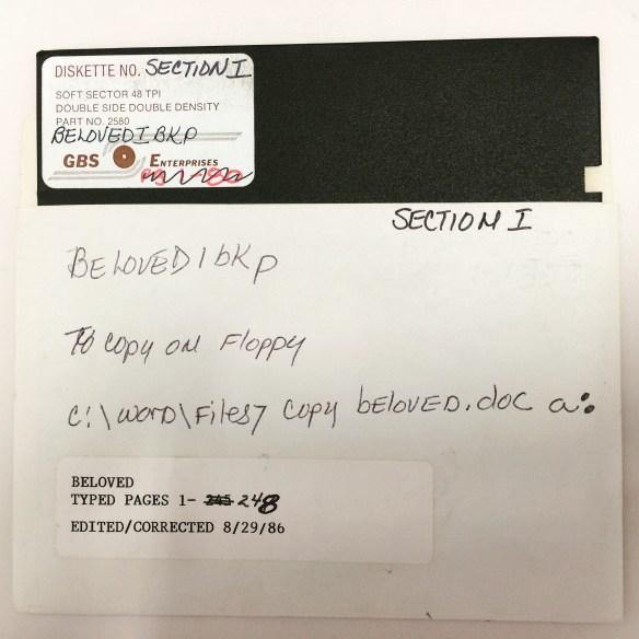 One of the Beloved disks