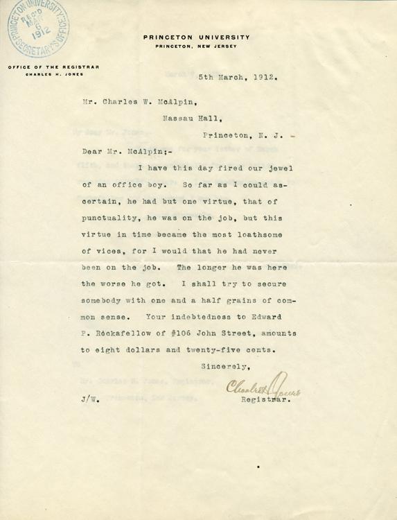 Charles_Jones_to_Charles_McAlpin_5_Mar_1912_AC190_Box_41_Folder_5