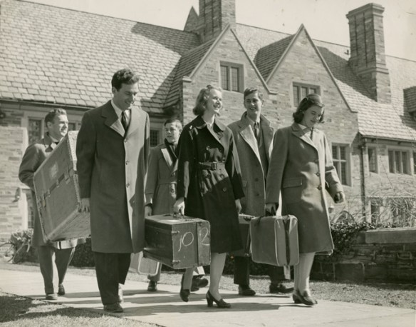 Arriving_at_Brown_Hall_1946_AC112_Box_MP166_Image_6055