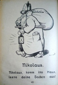 St. Nicholas, as depicted in the 1923 edition
