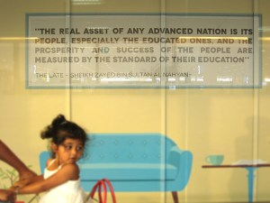 quote from Sheikh Zayed