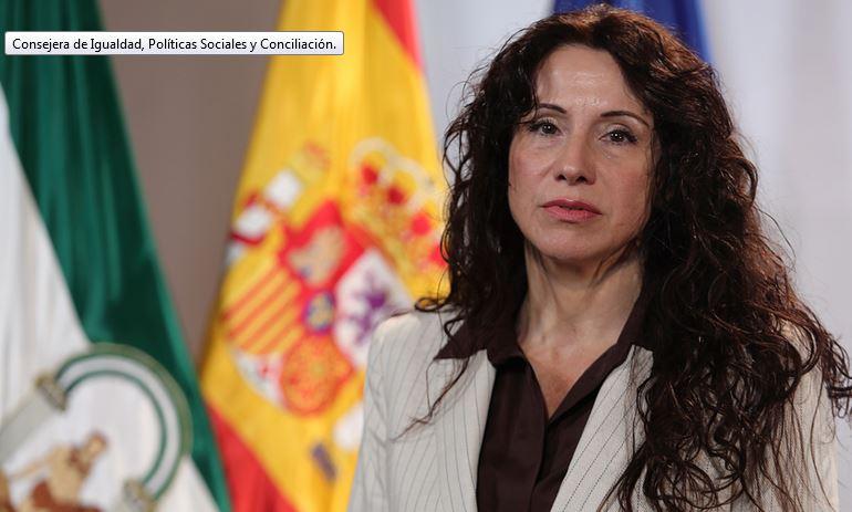 La consejera de Igualdad, Políticas Sociales y Conciliación Rocío Ruiz Domínguez (Cs).