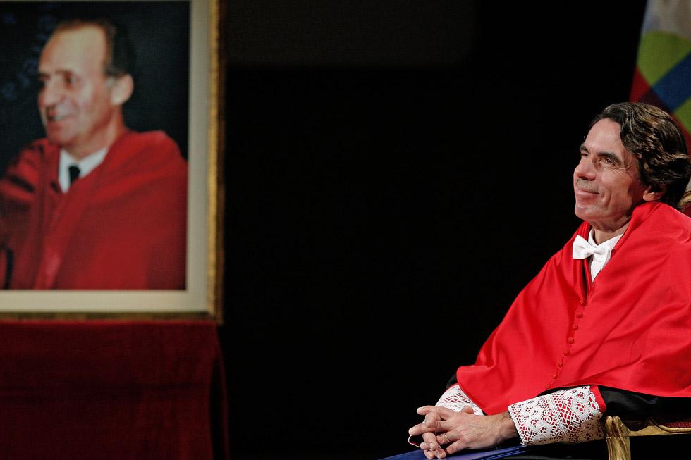 Investidura como Doctor Honoris Causa de la Universidad Cardenal Herrera, CEU, de José María Aznar. (20/01/2009)