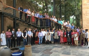 Sandpit delegates, mentors and funders.