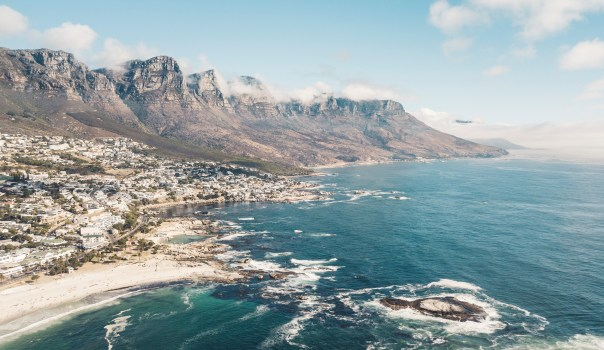 Aerial view of Cape Town Coast from Unsplash
