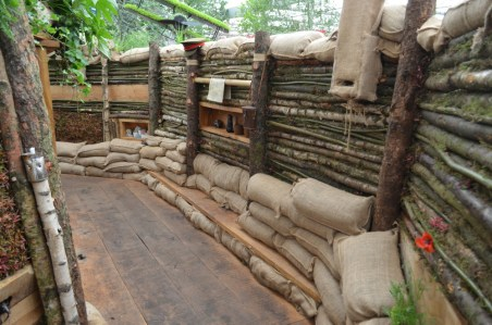 Birmingham mark 100 years since WW1 with a botanical bunker