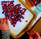 Day 8 - Cranberry fruit (c) Jonathan Mitchley
