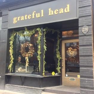 White cedar garlands at the grateful head