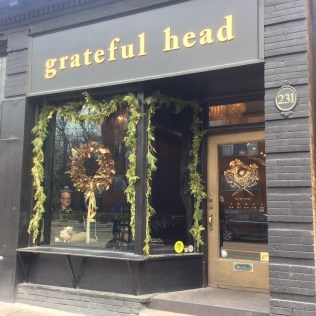 White cedar garlands at the grateful head