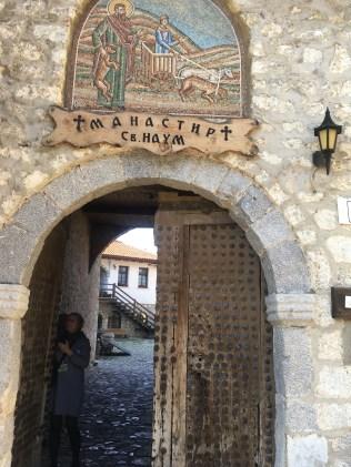 The monastery at St. Naum.