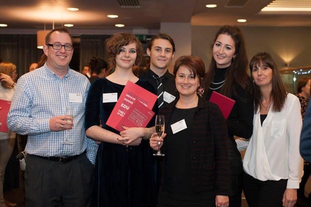 BA Graphic Communication 2015 Chancellor's Award function