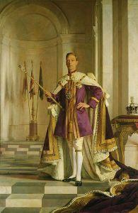 Portrait of King George VI (1895-1952)