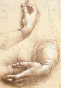 Leonardo_da_Vinci_-_Study_of_hands_