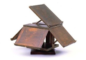 Thomas Jefferson's revolving book stand.