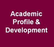Academic Profile & Development