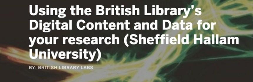 British Library Labs workshop banner