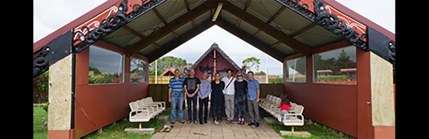 Lab4Living in Auckland visiting a Maori Marae