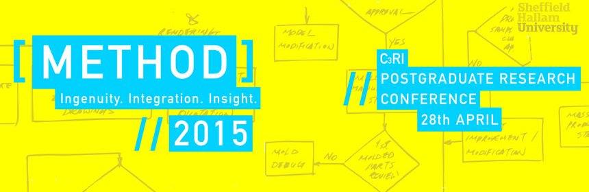 Method 2015 C3RI postgraduate Research Conference logo