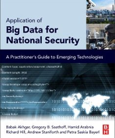 Front cover of book - Big Data for National Security - Babak Akhgar (Eds)