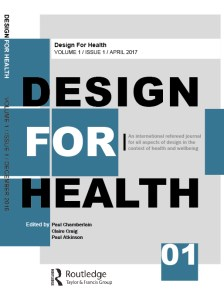 Design for Health, journal cover image