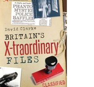 front cover of book - Britains x-traordinary files