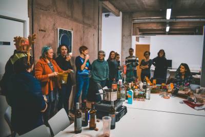 SHU Art & Design PhD Studio, S1 Artspace, Park Hill, Smizz (2017).
