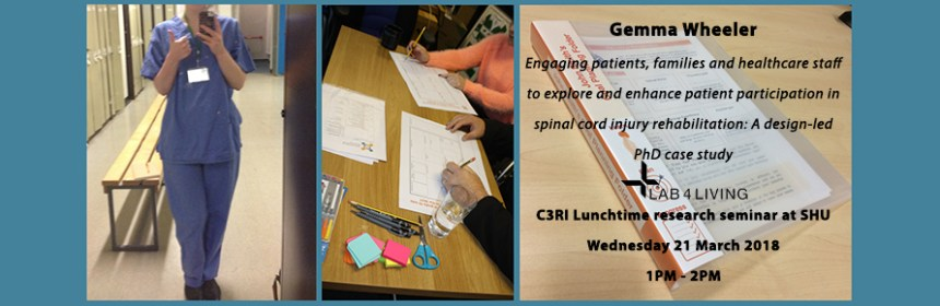 Banner image for Gemma Wheeler's C3RI Lunchtime seminar - courtesy of Gemma Wheeler