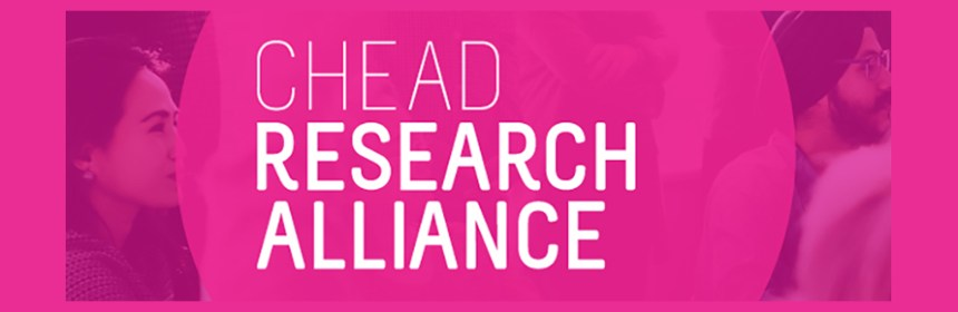Banner image for CHEAD Research Alliance events - courtesy of CHEAD