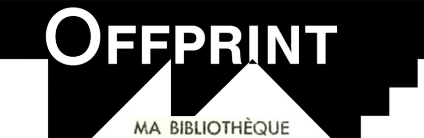 Offprint logo and MA BIBLIOTHÈQUE logo superimposed