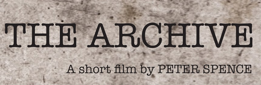 Banner - Promotional image for 'The Archive', directed by Peter Spence