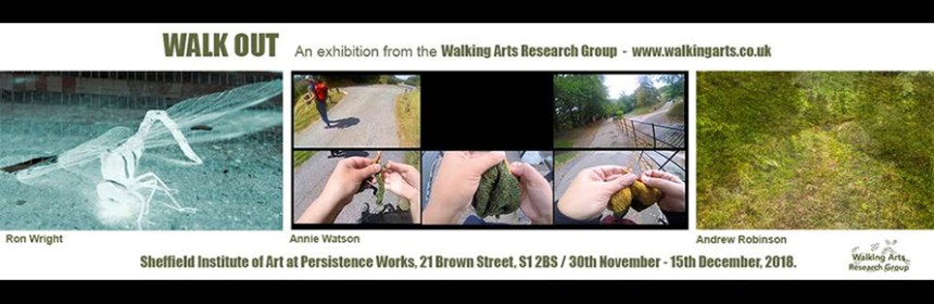 Walk Out exhibition banner