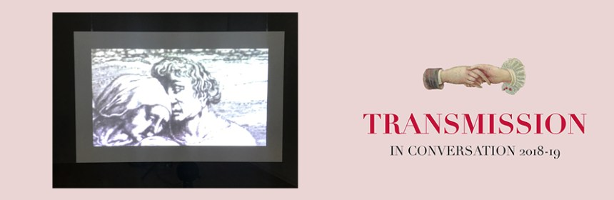 Transmission banner - featuring Michelle Atherton's 'As Much About Forgetting' exhibition work